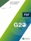 Oecd Secretary General Tax Report g20 Leaders July 2017