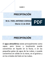 Clase 3 Precipitación
