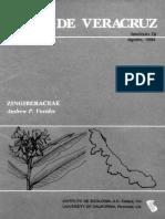 Flora de Veracruz Zingiberaceae