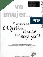 GOMEZ-ACEBO, I. (ed) - Y vosotras quien decis que soy yo - Col. En clave de mujer - Desclee de Brouwer, 2000 (1).pdf