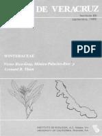 Flora de Veracruz Winteraceae