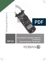 Pinza de Fugas Koban KPF-01