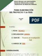 Exposicion Sobre Estructura Trabajo de Investigacion
