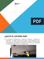 Sistema Obd1 y Obd2