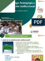 PPT 4 Planificación Institucional (01!02!2017)