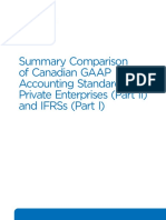 Ifrs proposal from heed advisory services to arcon historical cost g10161 rg summary comparison canadian gaap aspe ifrs january 2017 maxwellsz