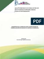 COMERCIALIZACIÓN. Diagnóstico de La Cadena de Valor de Banano. RevF