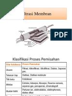 Filtrasi Membran