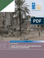 SDG Implementation in Fragile States