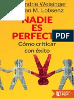 Nadie es perfecto - Hendrie Weisinger.pdf
