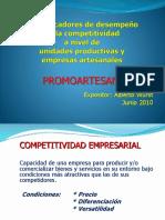 TUMBES Los Indicadores de Desempeño de La Competitividad a Nivel de MyPEs Artesanales