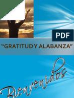 Gratitud y Alabanza