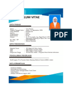 Curriculum Vitae Gita Pertiwi