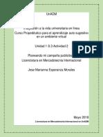 Licenciatura en Mercadotecnia Internacional en UnADM
