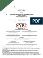 NYRT-FS-2016FY-10K - 2016.12.31