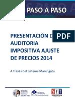 Guías Paso a Paso - Presentación de Auditoría Impositiva Ajuste de Precios 2014