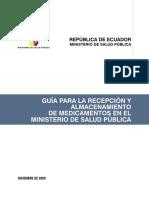 Guía para el almacenamiento de medicamentos.pdf