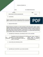 Ficha de Actividad n.14