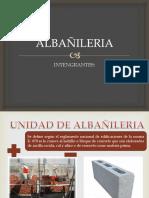 DIAPOSITIVAS DE ALBAÑILERIA