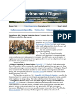 PA Environment Digest May 7, 2018