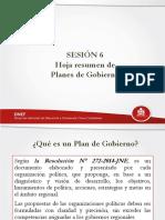 5. Sesión 7 Planes de Gobierno