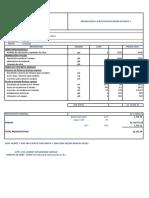 Presupuesto Escalera _ Bloque 1