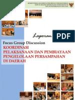 FGD Pelaksanaan Dan Pembiayaan Persampahan 19082010