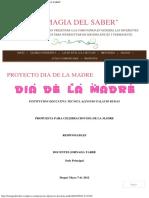 PROYECTO DIA DE LA MADRE  LA MAGIA DEL SABER.pdf