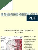 IMUNIDADE DO FETO E DO RECÉM-NASCIDO