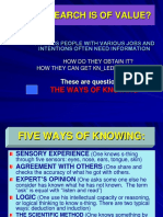 WAYS-KNOWING.ppt