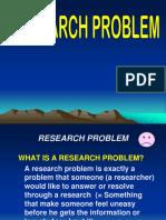 Rsrch Problem