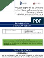 EDD-U6 Metodos de Busqueda-2016