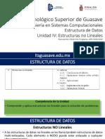 EDD-U4 Estructuras No Lineales-2016