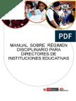 manual Regimen Disciplinar-directores