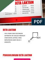 Analisis Beta Laktam
