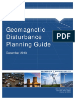 Geomagnetic Disturbance Planning Guide (NERC)