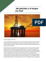 La trinchera del petróleo y el buque del capitalismo fósil