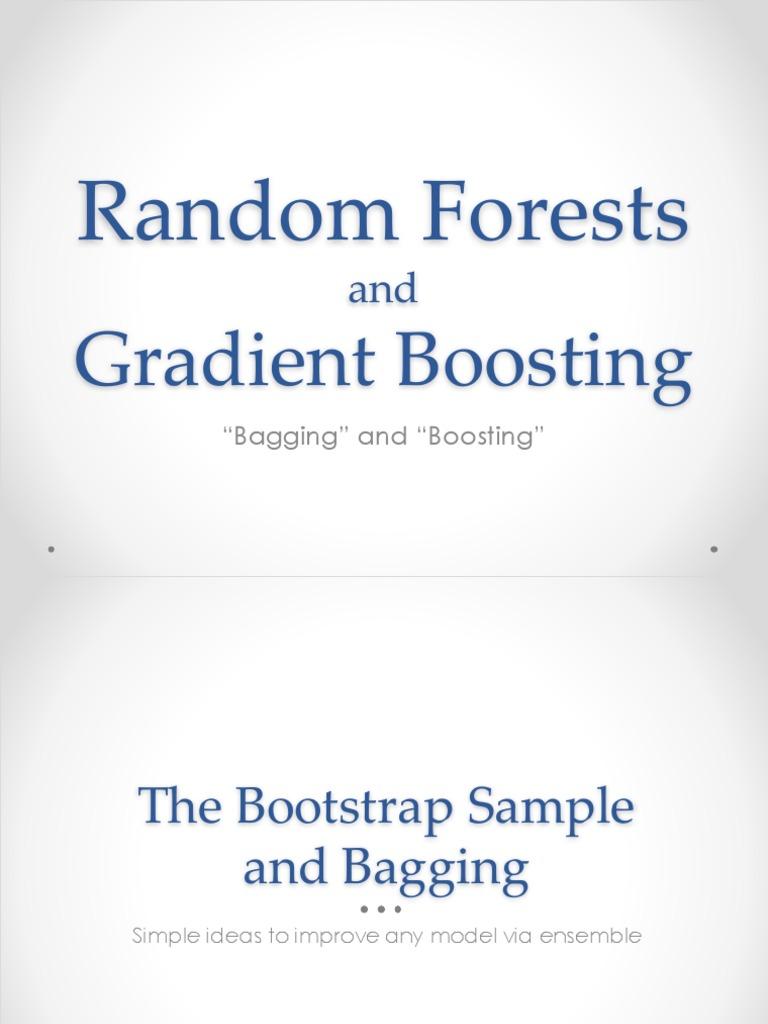 RFandGBM pdf | Bootstrapping (Statistics) | Statistical Theory