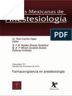 52. Farmacovigilancia en Anestesiologia