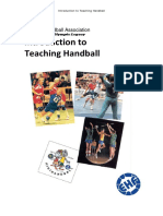Ehf Introduction to Teaching Handball