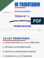 Principios Conts. de La Ley Tributaria 1