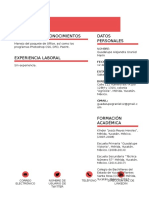 Curriculum Vitae Tarea página 75