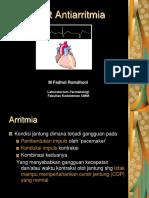 Antiarritmia