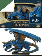 D&D Miniatures Game - Gargantuan Blue Dragon