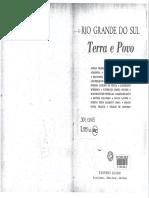 CESAR, Guilhermino. Raízes Históricas Do Rio Grande Do Sul. In_ Rio Grande Do Sul - Terra e Povo