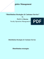 LM (2) Distribution Strategies & Customer Service