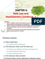 CRELect6 - Rate Laws and Stoichiometry (1)