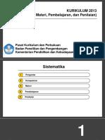 Penialian-Kompetensi, Materi, dan Pembelajaran paparan 21 Maret 2016.pptx