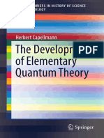 [Capellmann, H.] the Development of Elementary Quantum Theory