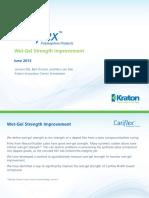 Cariflex IR Latex - Wet Gel Strength
